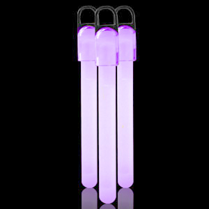 4 Inch Standard Glow Sticks - Purple