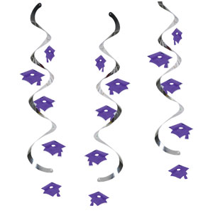 Graduation Dangler - Purple