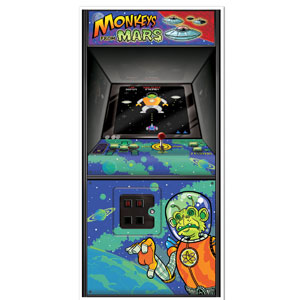 Arcade Game Door Cover - 5ft