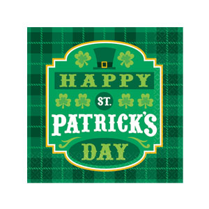 St. Paddy's Beverage Napkins