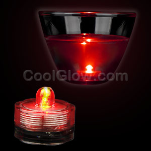 LED Submersible Waterproof Deco Light - Red