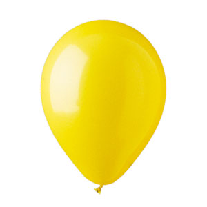 12 Inch Yellow Latex Ballons- 15ct