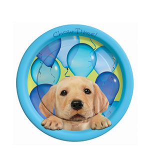 Party Pups 9 Inch Plates- 8ct