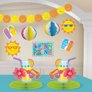 Fun in the Sun Decorating Kit- 10pc