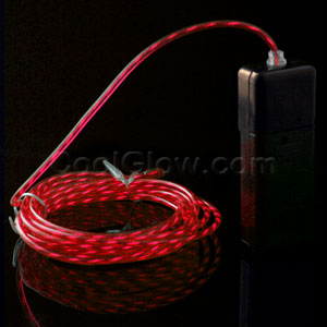 EL Motion Wire - Red 2 Yard
