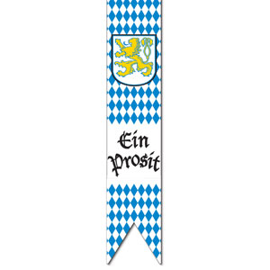 Oktoberfest Pull-Down Flag Cutout - 6ft