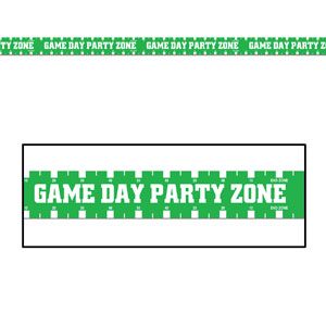Game Day Party Zone Party Tape- 20ft