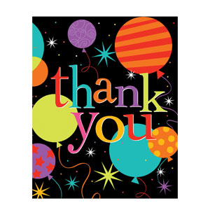Life is Great Thank You Cards - 8ct