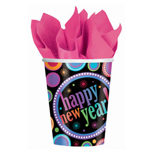 Modern New Years 9 oz. Cup