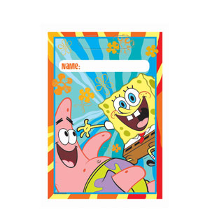 SpongeBob Buddies Loot Bags- 8ct