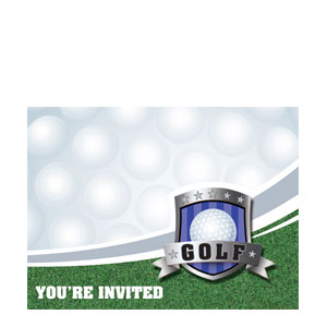 Golf Invitations