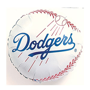 Los Angeles Dodgers Balloon- 18in