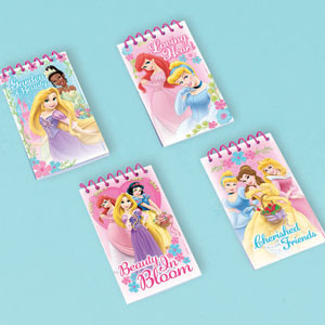 Disney Princess Note Pads- 12ct