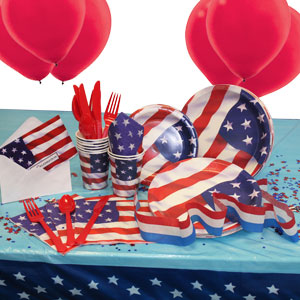 4th of July Basic Party Package