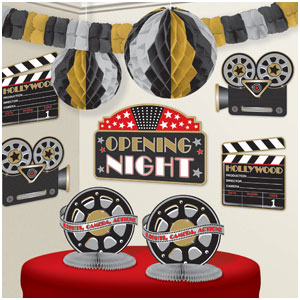Hollywood Decorating Kit- 10pc