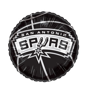 San Antonio Spurs Balloon- 18in