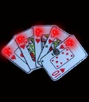 Flashing Royal Flush Blinky