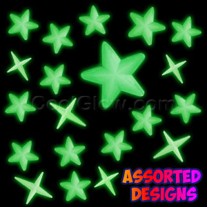 Glow Stickers - Star Assortment