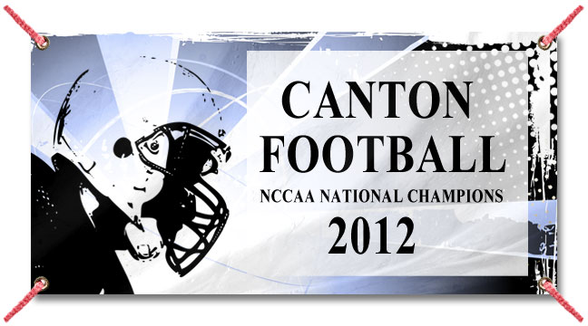 Football Helmet - Custom Banner