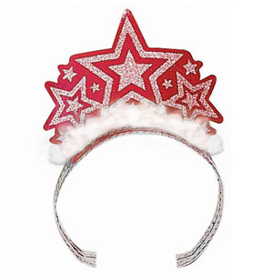Patriotic Tiara- Red