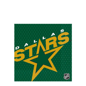 Dallas Stars Luncheon Napkins- 16ct