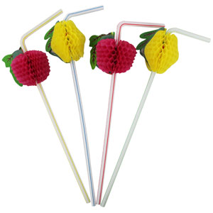 Hawaiian Straws- 50ct