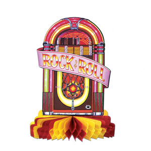 Juke Box Centerpiece - 10inch