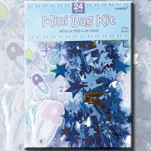 Mini Cello Bags - Blue