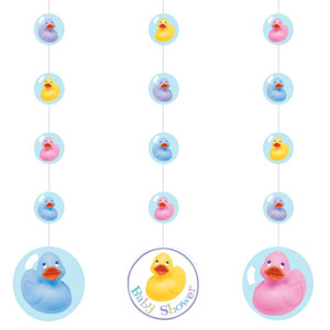 Rubber Ducky Hanging Cutouts