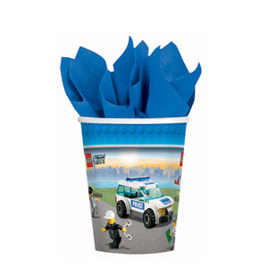 Lego 9 oz. Cups- 8ct