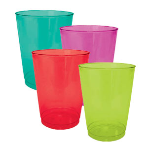 Assorted Color 10 Ounce Tumblers- 40ct