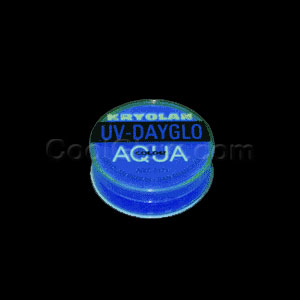 Kryolan AquaColor Neon Body Paint .35 oz - Blue