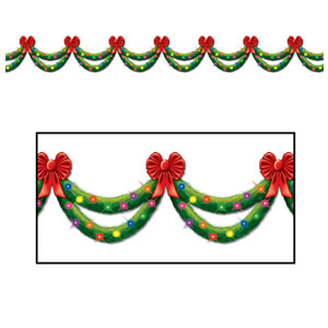 Pine Garland Border Prop - 30ft