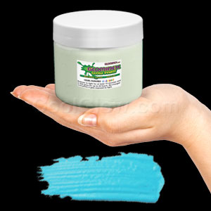 Glominex Glow Paint Pint - Invisible Day Aqua