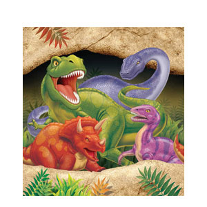 Dino Blast Plastic Tablecover- 108in
