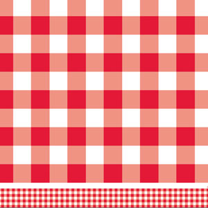 Patriotic Picnic Plastic Tablecover