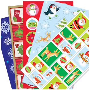 Christmas Stickers Big Pack- 350ct