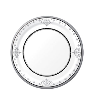 25th Anniversary 7 Inch Luncheon Plate