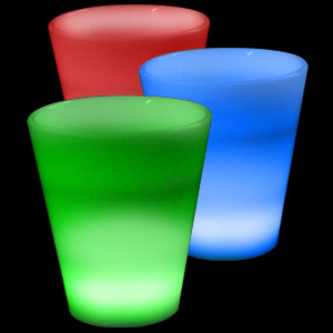 Glow LED Shot Glass - 2 oz. Multicolor