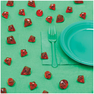 Red Diamond Table Scatters