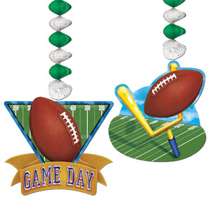 Game Day Football Danglers- 2pc