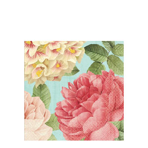 Blissful Blooms Luncheon Napkins- 36ct