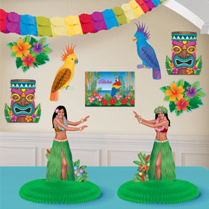 Luau Decorating Kit- 10pc