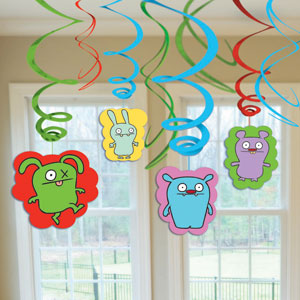 Ugly Doll Swirls- 12ct