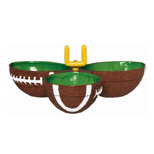 Football Condiment Dish- 9in