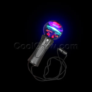 LED Mini Spinner Wand - Purple