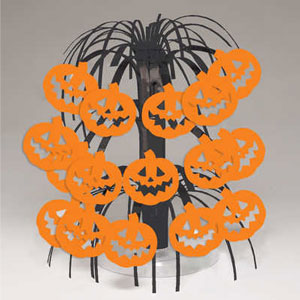 Pumpkins Mini Cascade Centerpiece- 8in