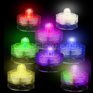 LED Submersible Waterproof Deco Light - Assorted