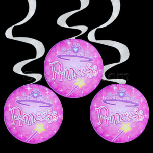 Swirl 24 inch Dangle - Princess