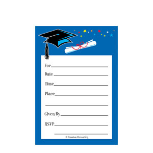 Star Grad Open House Cards